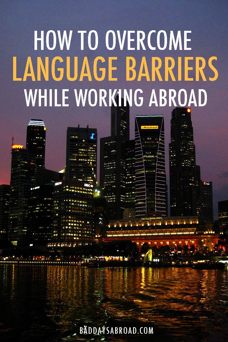 Overcome language barriers at work