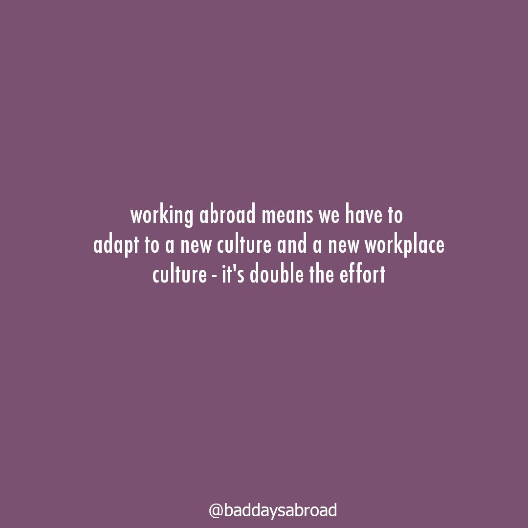 Working abroad: Figuring out the workplace culture