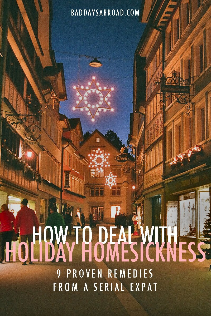How to deal with homesickness abroad during holidays