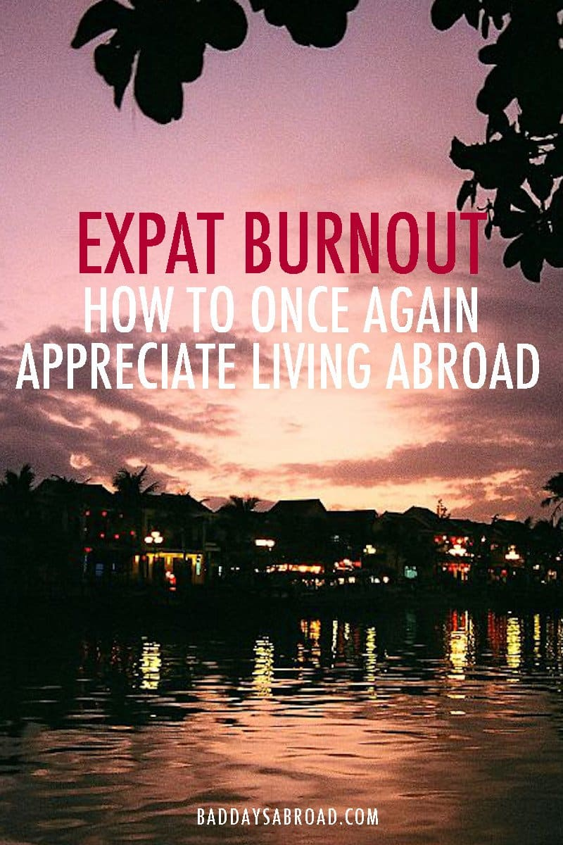 Expat burnout