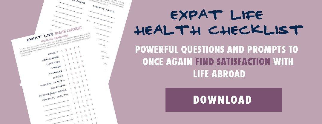 Expat Burnout Health Checklist