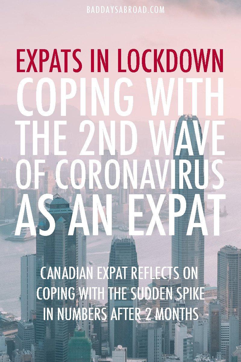 Hong Kong expats during coronavirus